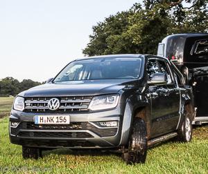 VW Amarok Pickup als Pferdeanhängerzugfahrzeug