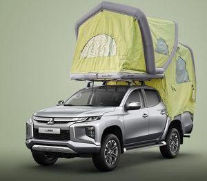 Mitsubishi-Dachzelt