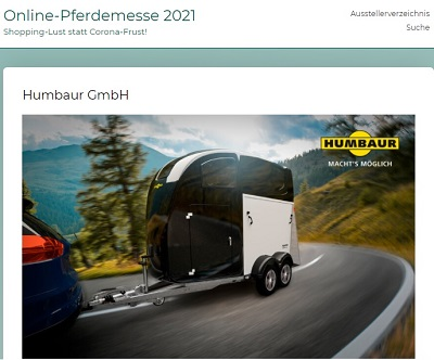 Humbaur-Online-Messe-Start
